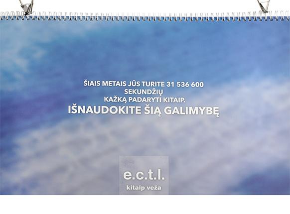 signed-w stalo kalendorius